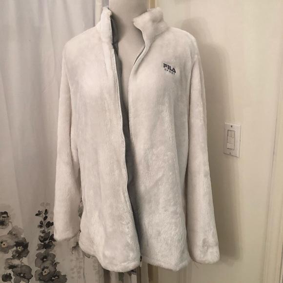 Fila Jackets & Blazers - Fila winter fleece coat